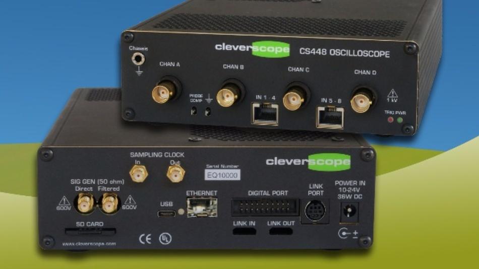 Cleverscopes sind vor allem im Forschungs- und Universitätsbereich bestens eingeführt. Jetzt neu: das Cleverscope CS448