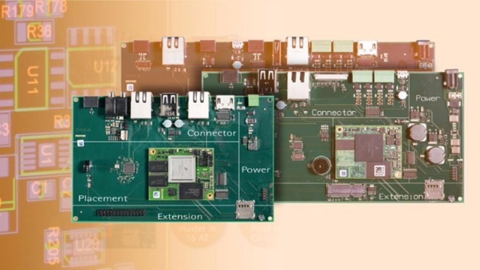 Trägerboard für i.MX6-Modul nach Kundenvorgaben: Der Rapid Project Service von Phytec macht's möglich.