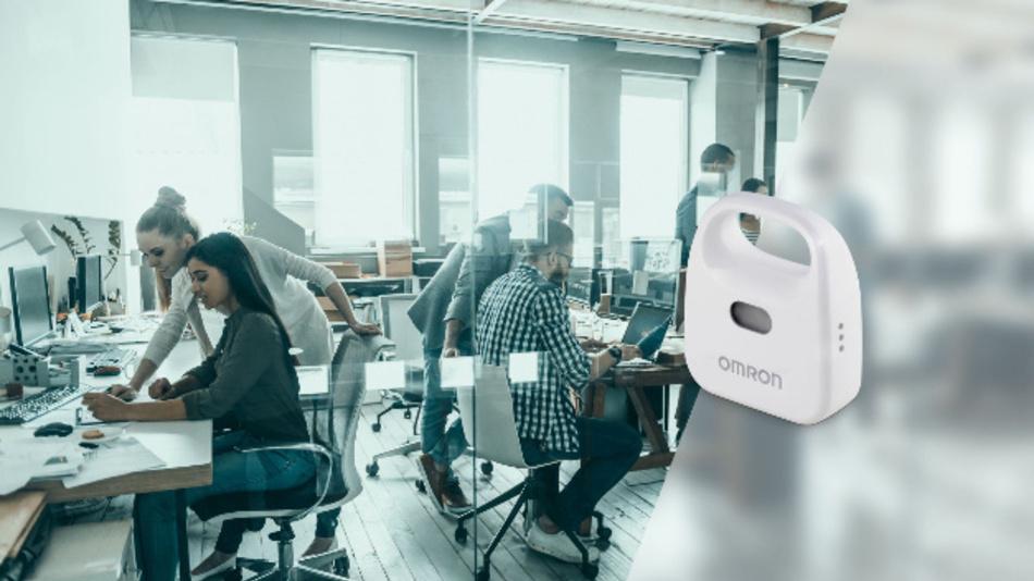 Der Omron 2JCIE-BL01 kann unter Anderem zur Überwachung der Umgebungsbedingungen in Büroräumen eingesetzt werden.