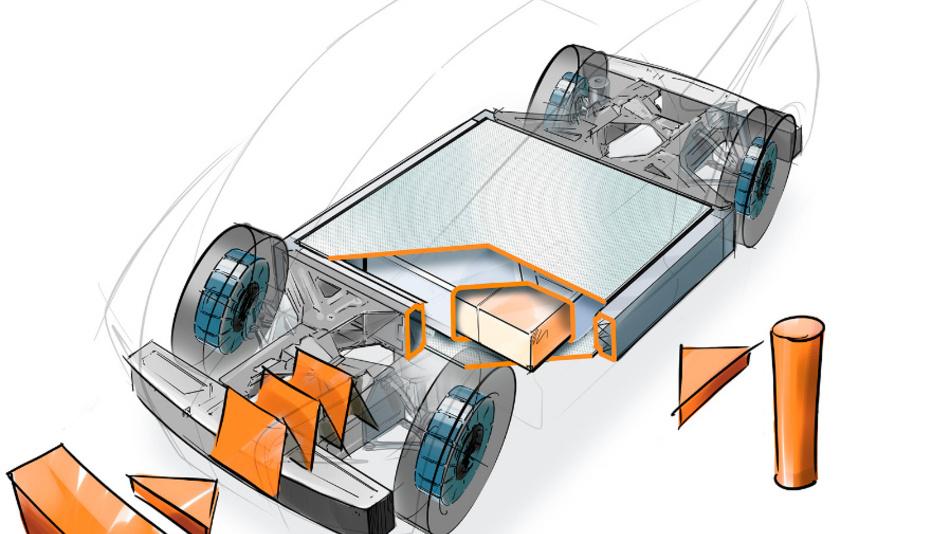 Die entwickelten Batteriegehäuse schützen das Herz jedes Hybrid- und Elektrofahrzeugs zuverlässig.