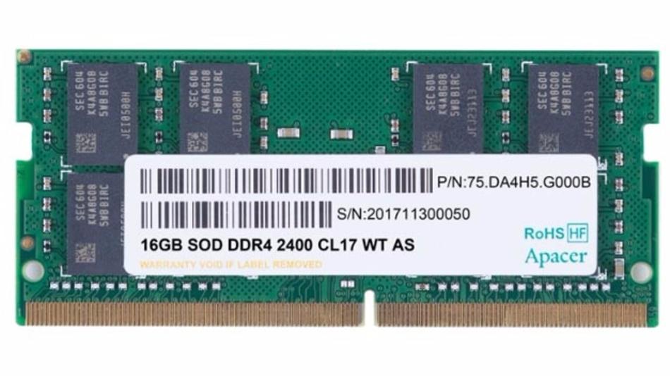Schwefelresistentes DDR4-SODIMM-Speichermodul