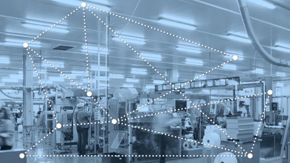 Die neue Bluetooth-Mesh-Technik entspricht industriellen Anforderungen.