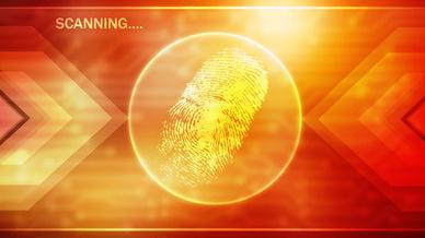 Fingerabdruckscan