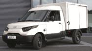 Der Work: einer der Elektrotransporter, der StreetScooter GmbH