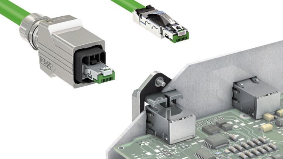 Die neue Serie robuster RJ45-Steckverbinder bietet 360°-Abschirmung und ist auf den Einsatz in der Netzwerk- und Datenkommunikation ausgerichtet