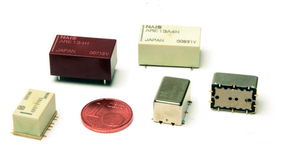 Durch einen weiten Frequenzbereich von DC bis 8GHz zeichnen sich die einlötbaren, kompakten HF-Relais von Telemeter Electronic aus.