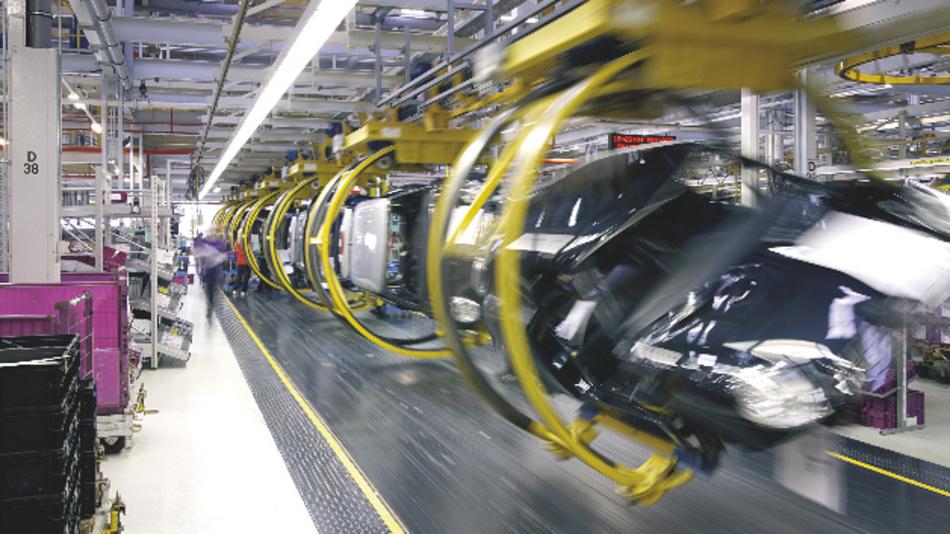 LED-Beleuchtungen von Osram in der industriellen Produktion