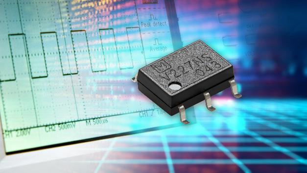 Bei Panasonics PhotoMOS-Relais AQV252G3S sind Dauerlastströme von bis zu 3,3 A möglich.