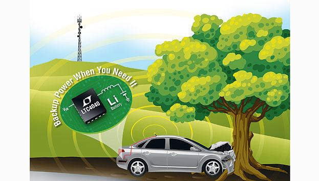Stabiles System mit Power Management zur Backup-Stromversorgung.