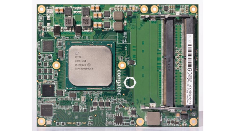 Das conga-B7XD ist Congatecs erstes Server-on-Module im neuen COM-Express-Standard.