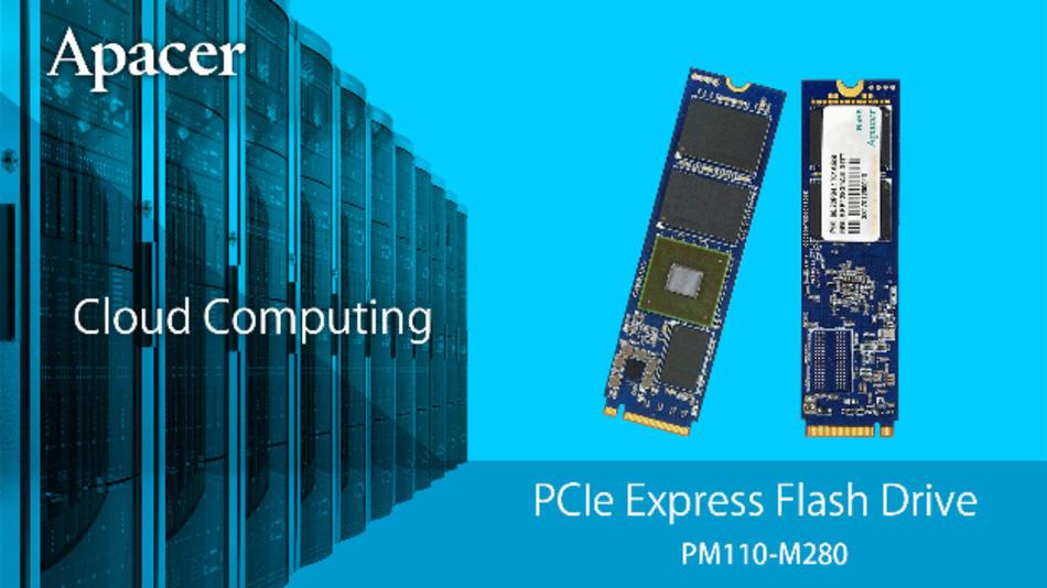 Apacer bietet für Industriekunden eine neue PCIe Flash Drive an