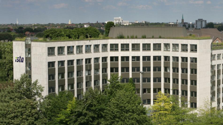 Der Firmensitz von Ista in Essen