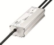 Der neue 200 W LED-Treiber von Tridonic kann drinnen und draußen verwendet werden.