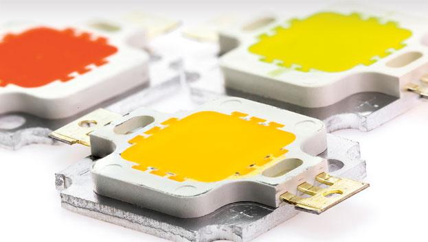 Sicherstellende Wärmeabfuhr mit einer passenden LED und Simulationssoftware.
