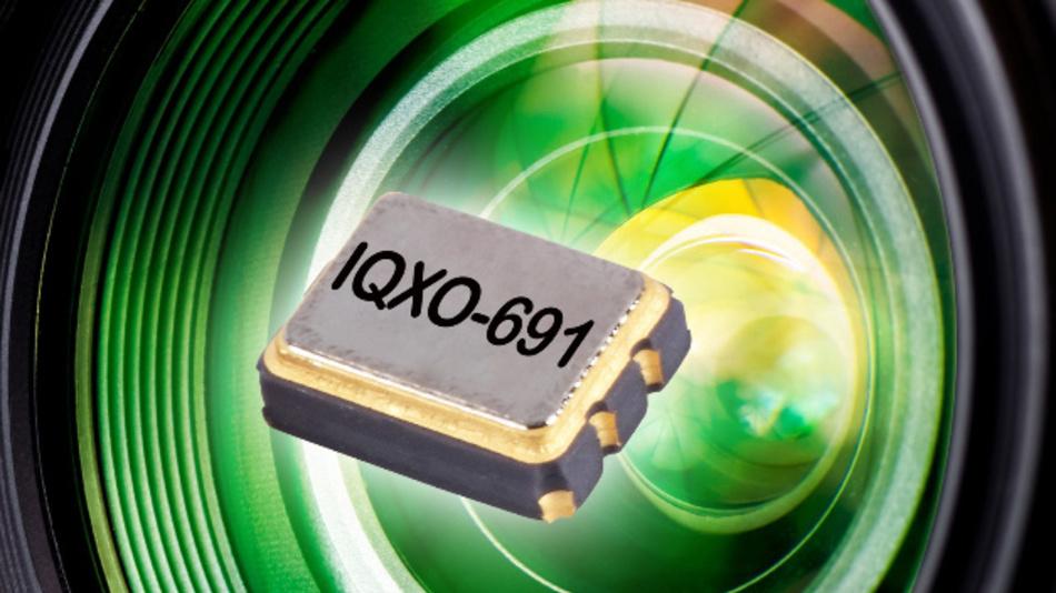 Den Frequenzbereich von 10 bis 50 MHz deckt IQDs Oszillator-Serie IQXO-691 ab.
