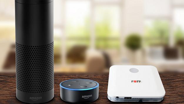 Die Smart-Home-Zentrale »Popp Hub« lässt sich jetzt über Amazon Echo steuern.