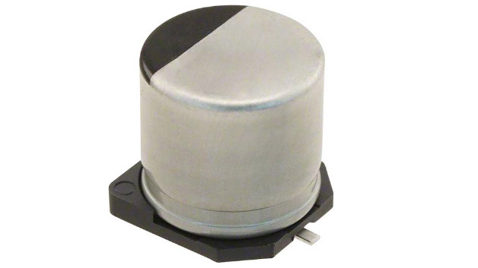 Kondensator aus der EEH-ZA-Reihe mit 6,3mm Durchmesser