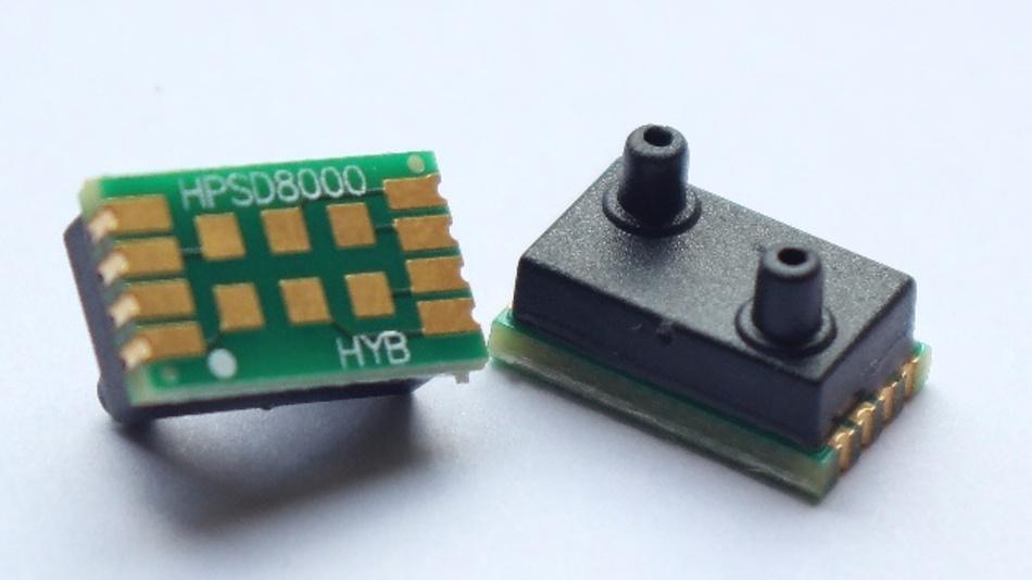 Jetzt auch im Unitronic-Portfolio: der industrielle Drucksensor HPSD8000 von HYB