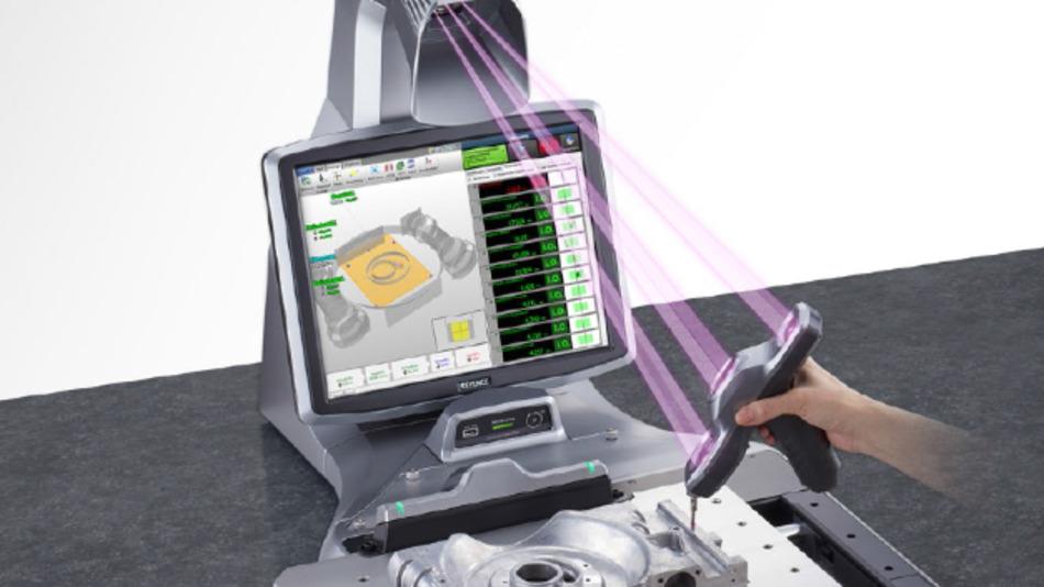 3D-Koordinatenmessgerät der XM-Serie von Keyence