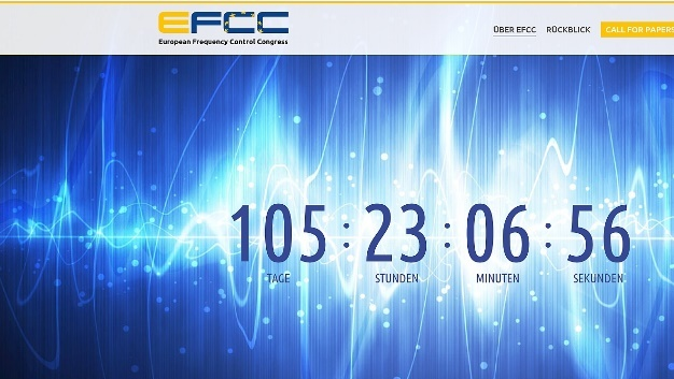 Der European Frequency Control Congress im November 2017