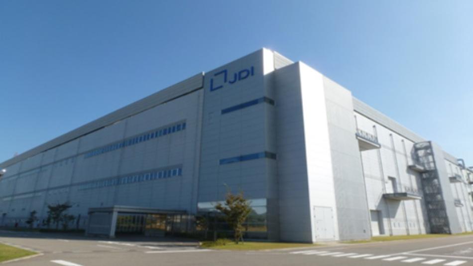 Die Fabrik von Japan Display Inc. in Ishikawa