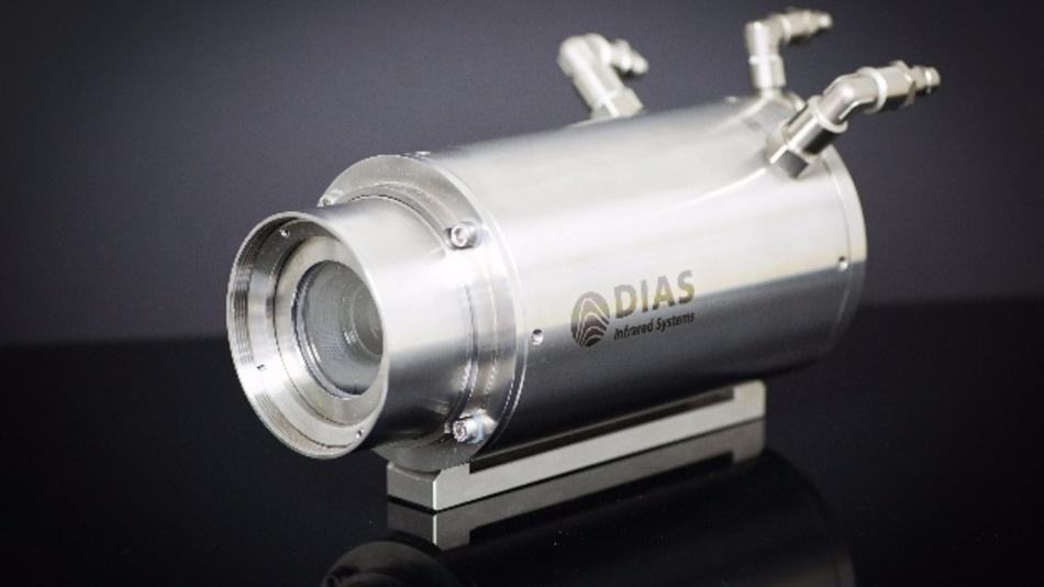 IR-Linienkameras Pyroline 512N/256Hz und Pyroline HS 512N/2000Hz im protection-Gehäuse.