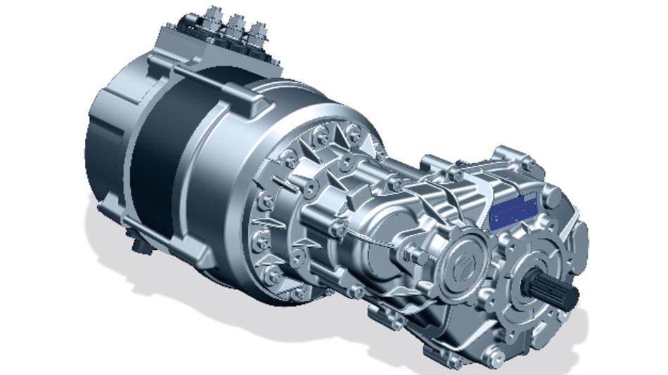 Bonfiglioli bietet jetzt komplette Elektroantriebe für Leichtbaufahrzeuge an.