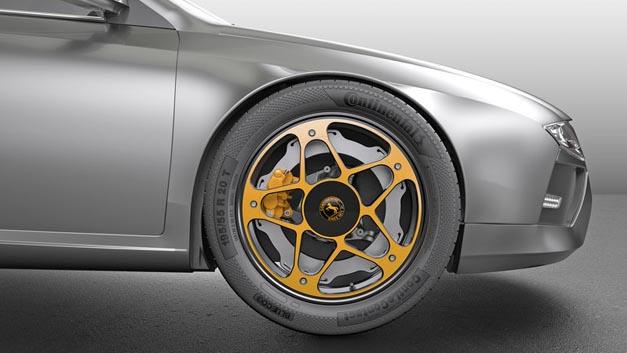 Das New Wheel Concept sorgt bei Elektrofahrzeugen für eine Verbesserung der Bremse.