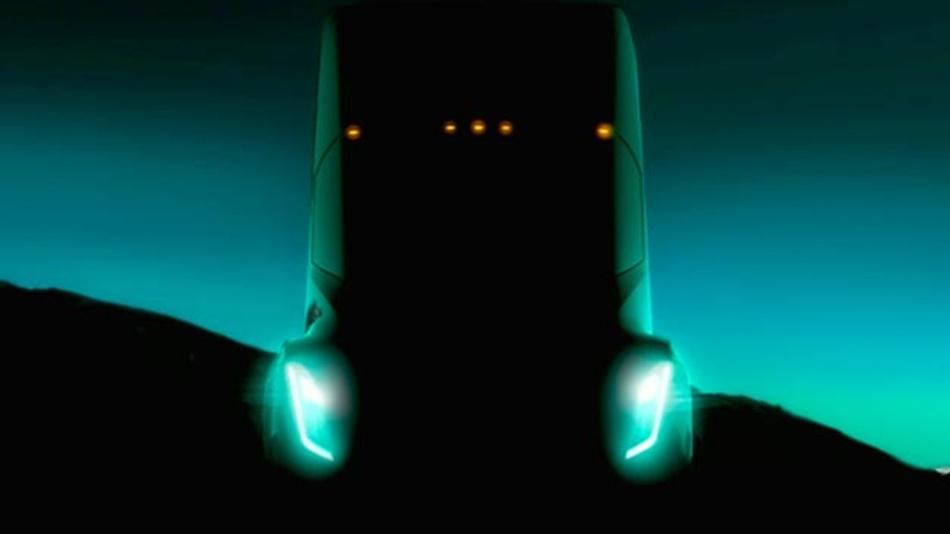 Der von Tesla angekündigte Elektro-Lkw soll auch automatisiert unterwegs sein.