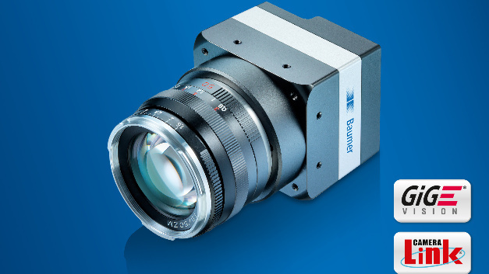Die neuen Mitglieder der Kamerafamilie LX von Baumer erreichen eine Bildsensor-Auflösung von 48 Megapixel bei einer maximalen Bilderfassungsrate von 15 Bildern/s.