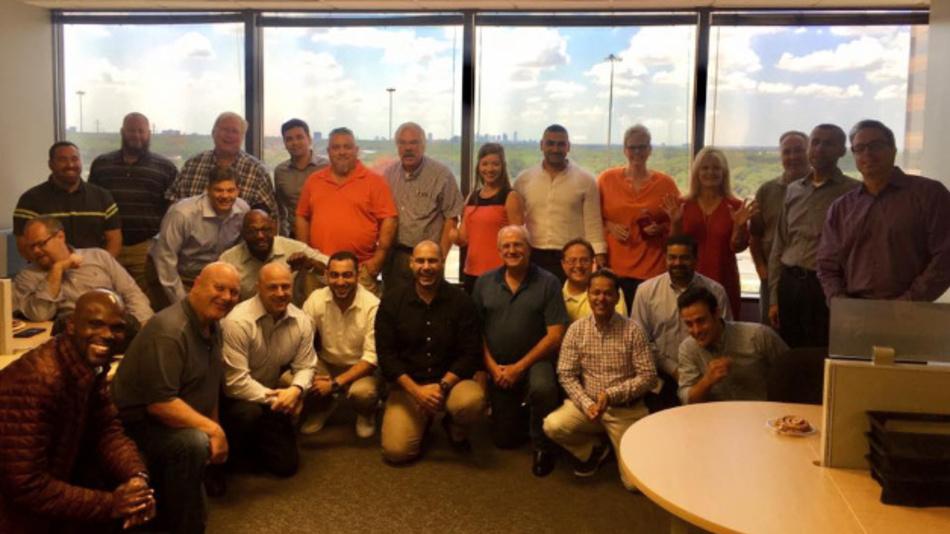 Das Team von Sigfox in Dallas