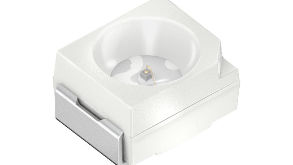 Den Nutzer im Blick: Die TOPLED SFH 4253 erzeugt das Lichtmuster für den Infrarot-Sensor des FOVE Virtual Reality Headsets.