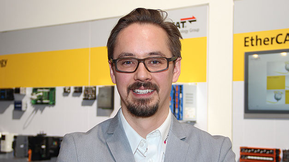 Nikolai-Ensslen von Synapticon sagt: Mit dem, was Synapticon bietet, kann auch jeder fähige Systemintegrator innerhalb von sechs Monaten seinen eigenen kollaborativen Roboter entwickeln