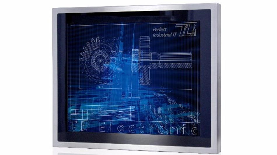 »Flat Stainless P-CAP« ist ein Edelstahl-PC von TL Electronic.