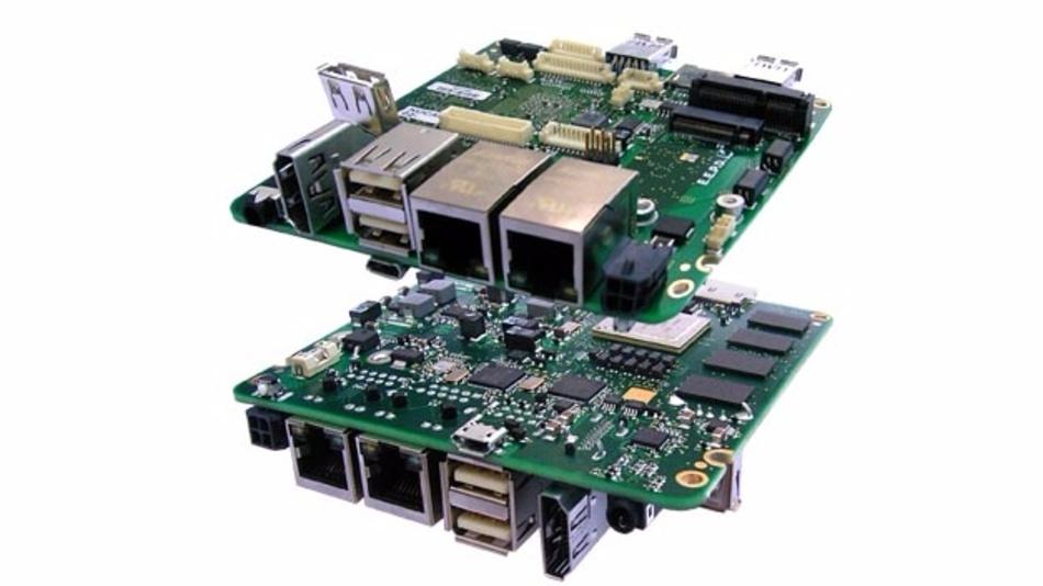 PROFIVE NUCA, ein Single-Board-Computer im NUC-Formfaktor.