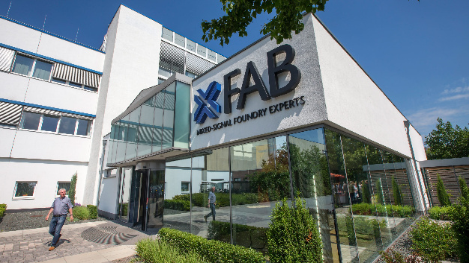 Produktionsstätte der X-Fab Semiconductor Foundries AG in Erfurt (Thüringen).