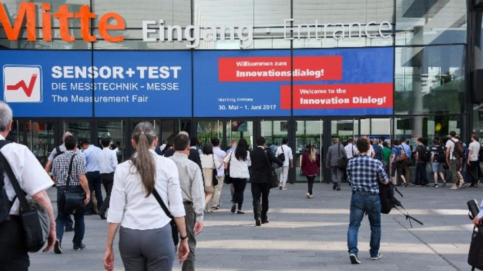 Immer mehr internationale Besucher finden den Weg nach Nürnberg zur Sensor+Test.