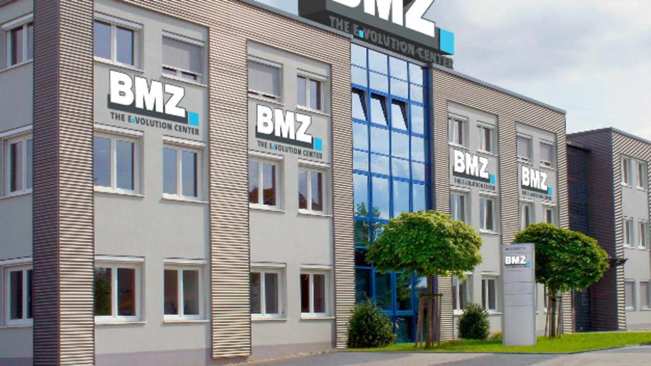 Gebäude des E.Volution Center von BMZ in Karlstein a.M. bei Aschaffenburg.