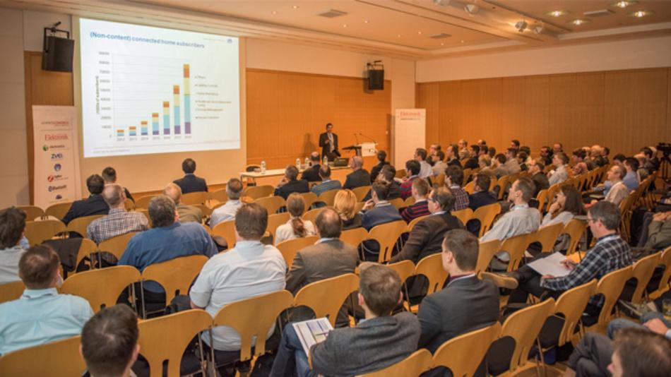 Keynote beim Wireless Congress Systems & Applications im Konferenzzentrum München.