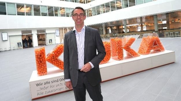 Till Reuter, Vorstandsvorsitzender der Kuka AG