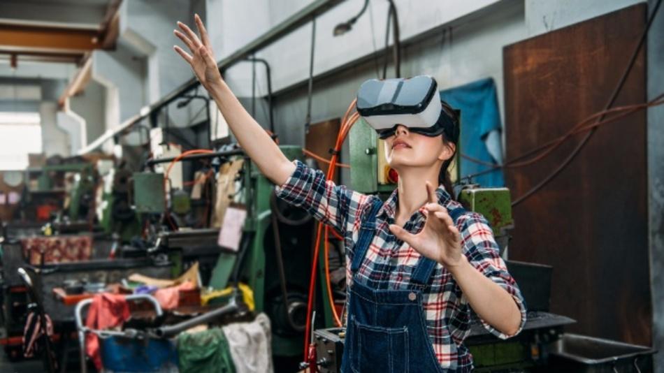 Virtuelle Realität wird die Produktion erobern.