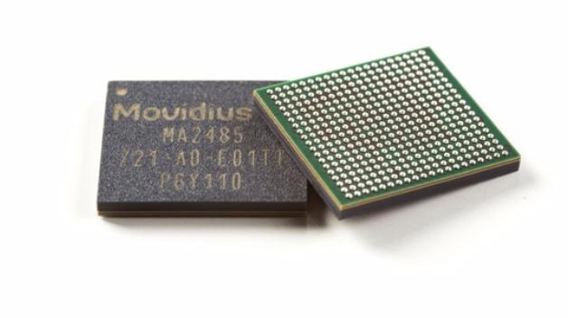 Der Movidius Myriad X ist ein Bildverarbeitungsprozessor, der Deep Learning beschleunigt.