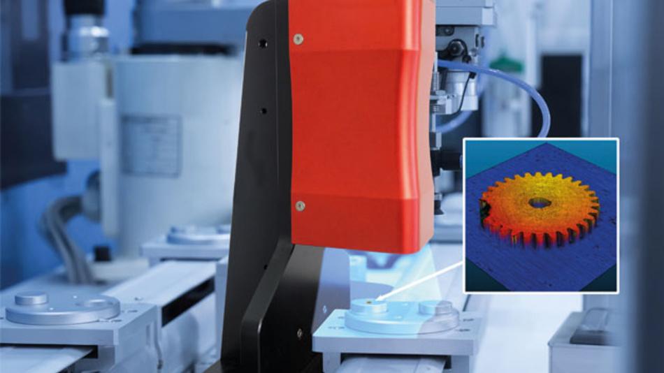 Die 3D-Kamera ZFokus von senswork erzeugt mit dem Depth-from-Focus-Verfahren detailierte 3D-Bilder für die Inspektion.