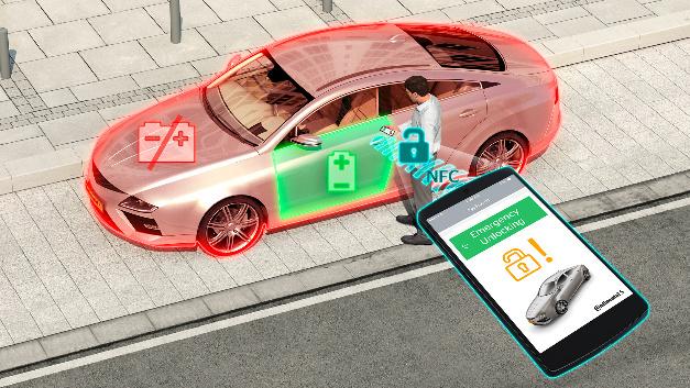 Das Smartphone wird zum digitalen Autoschlüssel.