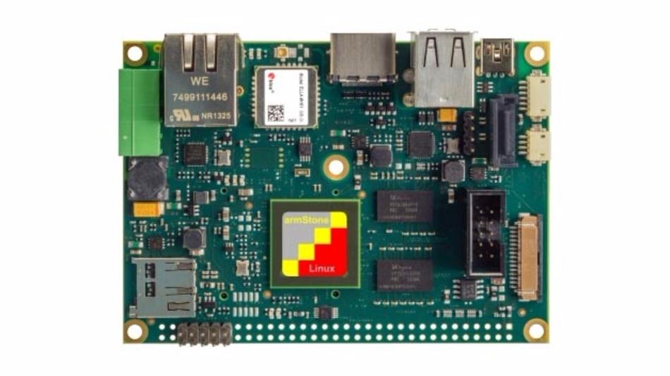 PicoITX-Board mit i.MX6-Prozessor von F&S Elektronik.