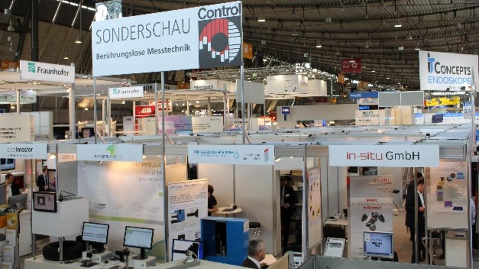 Die Sonderschau »Berührungslose Messtechnik« ist seit Jahren fester Bestandteil der internationalen Leitmesse für Qualitätssicherung Control.