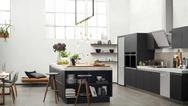 Samsung-Einbaugeräte in Küchenambiente