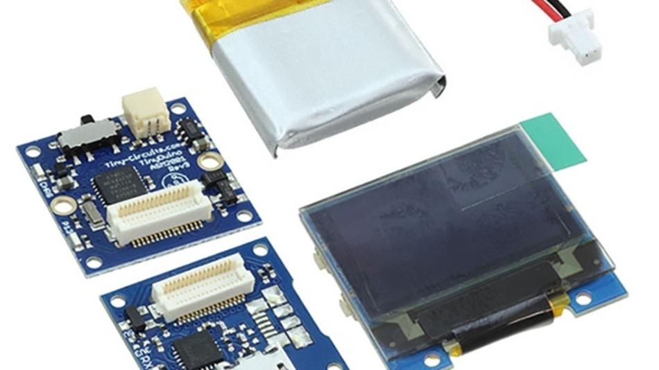 Sortiment kleinster Open-Source-Elektronikkomponenten von TinyCircuits