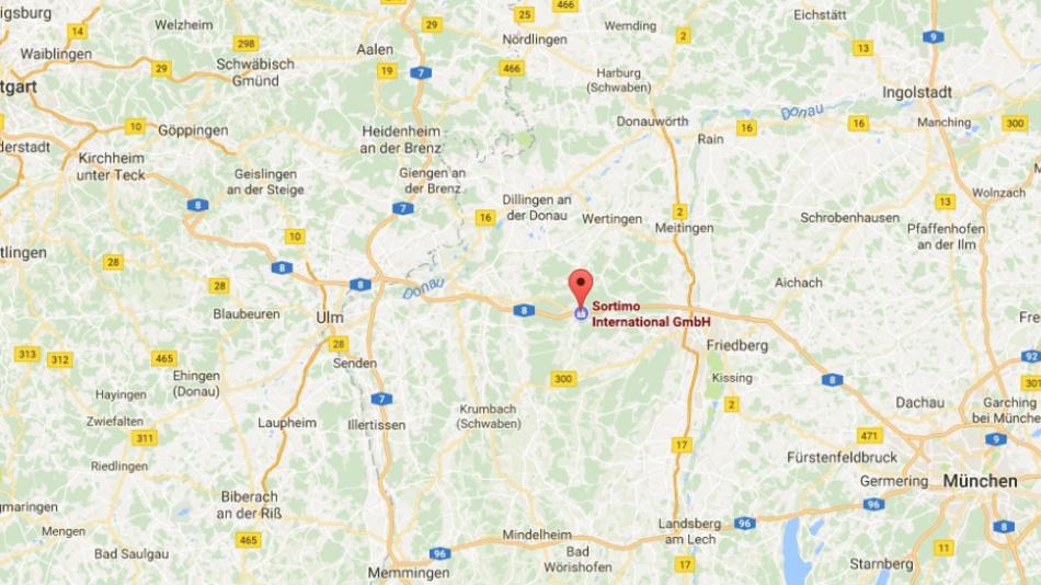 Zusmarshausen liegt an der A8 zwischen München und Stuttgart.