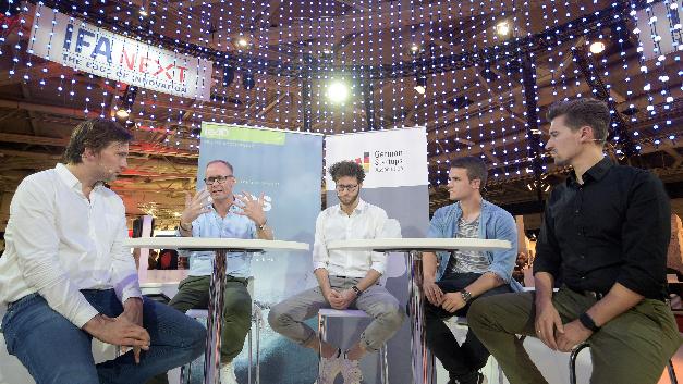 Podiumsdiskussion German Startups Association